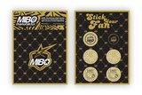 MIBO Aluminium High Speed Cooling Fan 30x30x10mm GOLD (BEC connector, 5-8.45V, 28000RPM) - MM-ACF30-G_