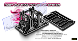 HUDY ALU TRAY FOR SET-UP SYSTEM - 109860_