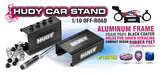 HUDY 1/10 OFF-ROAD CAR STAND - 108160_