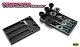 HUDY ALU TRAY FOR 1/10 OFF-ROAD DIFF ASSEMBLY - 109840_