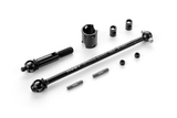 XRAY ECS FRONT DRIVE SHAFT 81MM WITH 2.5MM PIN - HUDY SPRING STEEL - SET - 365201_