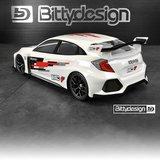 Bittydesign HC-F 1/10 FWD clear body 190mm - BDFWD-190HCF_