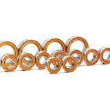 MonacoRC Ball Bearings orange kit for T4'19 (14pcs) - MC-B001_