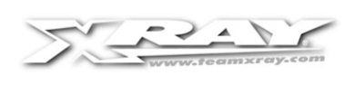 XRAY X12'20 REAR POD UPPER PLATE - GRAPHITE 2.5MM - 373551