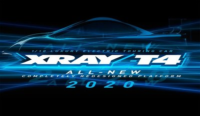 XRAY T4 - 2020 SPECS - 1/10 LUXURY ELECTRIC TC - ALU - 300027