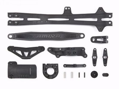 TAMIYA TT-01/E D-Parts Upper deck/Batt.Holder/Motor 51319