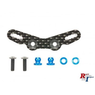 TAMIYA M-07 Carbon Damper Stay Front - 54761