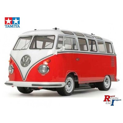 TAMIYA 1/10 RC VW Bus Type2 painted (T1) M-06 Chassis - 47420