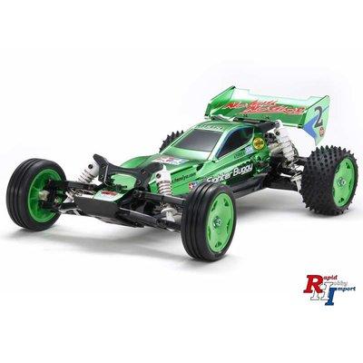 TAMIYA 1/10 RC Racing Fighter (DT-03) Metalic green - 47371
