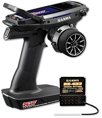 Sanwa M17 Radio + RX-493 Receiver - 101A32473A