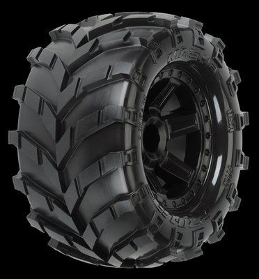 Proline Masher 2.8 (Traxxas Style Bead) All Terrain Tires Mounted on, PR1192-12 - 1192-12