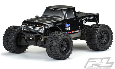 Proline 1966 Ford F-100 Tough-Color (Black) Body for Stampede - 3412-18