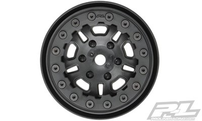 Proline FaultLine 1.9 Black/Black Bead-Loc 10 Spoke Front or Rear W, PR2748-15 - 2748-15