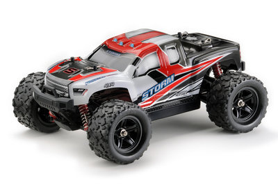 ABSIMA Scale 1:18 4WD High Speed Monster Truck, 2,4GHz Red - 18005
