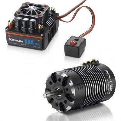 Hobbywing Combo Xr8 Plus 4268 D, 2200kv, Hw38020424 - 38020424
