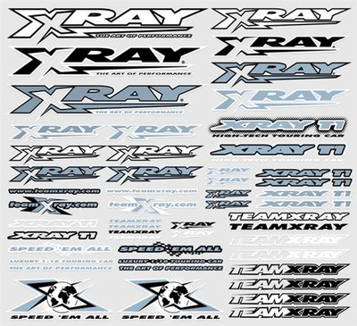 Xray Sticker For Body Metalic Silver, X397312 - 397312