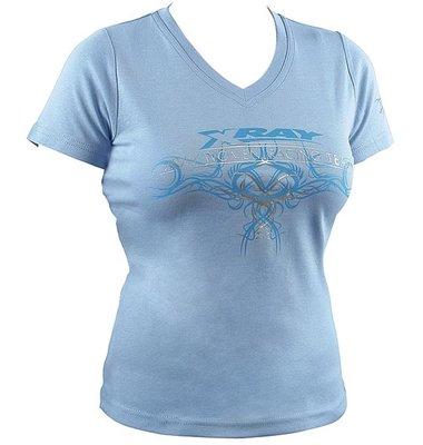 Xray Team Lady T-shirt Light Blue (m), X395031m - 395031M