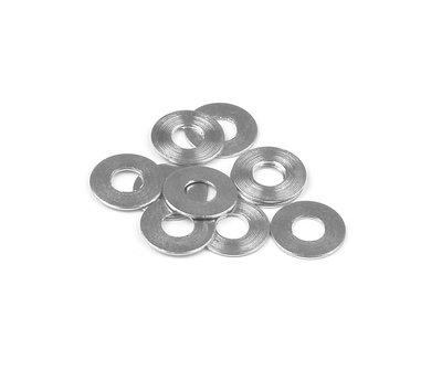 Xray Steel Shim For Lower Susp. Holder 3x7.5x0.4 (10), X303131 - 303131