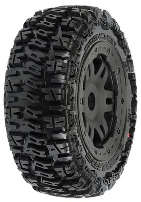 Proline Trencher Off-road Tires Mounted On Black Split Six Front Whe, Pr1154-13 - 1154-13
