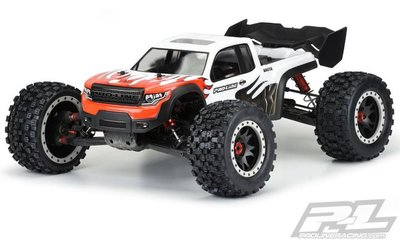 Proline Pre-cut Brute Clear Body For Arrma Kraton 8s - 3548-17
