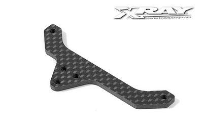 Xray X12 Rear Pod Upper Plate - Graphite 2.5mm, X373542 - 373542
