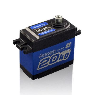 PowerHD LW20MG Waterproof 20Kg/016s Servo Metal Gear - PHD-LW20MG