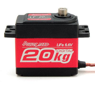 PowerHD 20KG/0.16sec Metal Digital Gear Servo - PHD-LF120MG