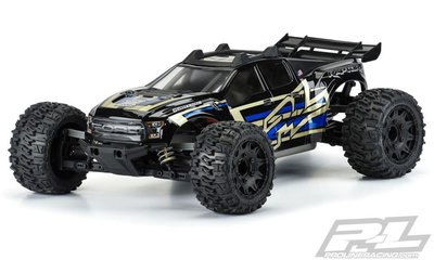 Proline Pre-cut 2017 Ford F-150 Raptor Clear Body For Rustler 4x4 - 3528-17