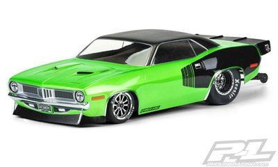 Proline 1972 Plymouth Barracuda Clr Bdy Slash 2wd Drg - 3550-00 - 3550-00