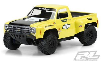 Proline 1978 Chevy C-10 Race Truck Clear Body For Sc - 3510-00