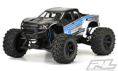 Proline Pre-cut 2017 Ford F-150 Raptor Clear Body For X-maxx - 3482-17