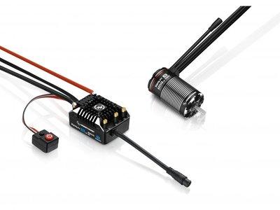 Hobbywing Combo Xerun Axe550 R2 3300kv Foc System - 38020314