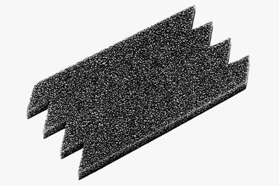 TAMIYA M-Chassis Inner Sponge Kit Type grey (4) - 53204