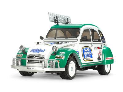 TAMIYA 1/10 R/C Citroën 2CV Rally (M-05Ra) - 58670