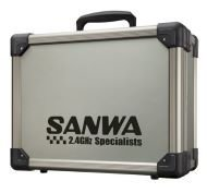 Sanwa M17/MT44 Alu Hard Carrying Case Sanwa M17 and MT44