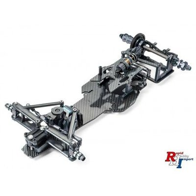 84432 1/10 R/C TRF102 Chassis Kit Black Edition