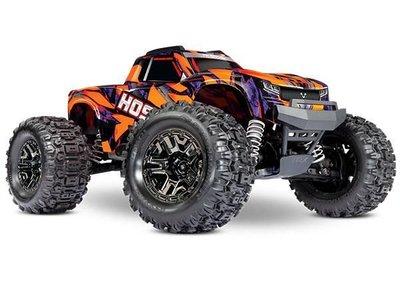 Traxxas Hoss 1/10 Scale 4wd Brushless Electric Monster Truck, Vxl-3s, Tqi - Orange - 90076-4O