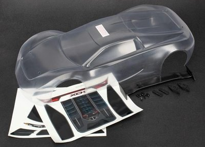 Traxxas Body, Xo-1 (clear, Requires Painting)/ Wing/ Wing Uprights (, Trx6411 - 6411