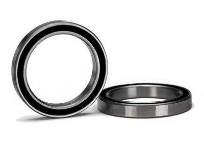 5182A Ball bearing, black rubber sealed (20x27x4mm) (2)