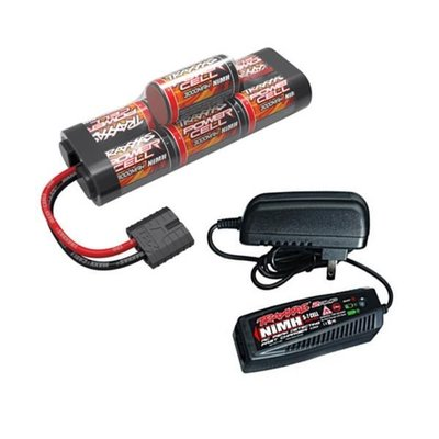 TRX2984G TRAXXAS BATTERY/CHARGER COMPLETER PACK 2969 CHARGER AND 2926X BATTERY