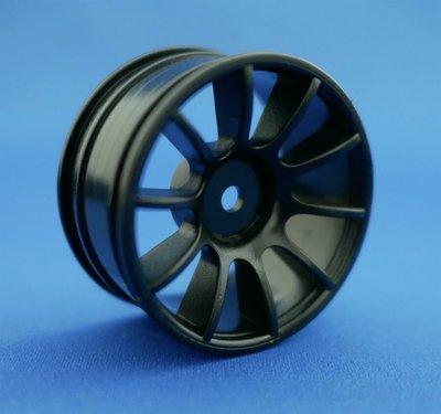 Ride 1:10 M-Chassis 60 Size 10-Spoke Wheel - Black (2)