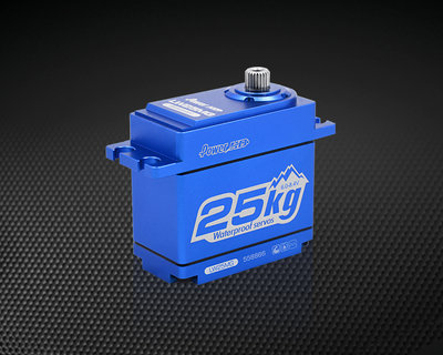 Power HD LW-25MG Crawler Alu Waterproof (0.14s/25.0kg/8.4V) Servo Ideal for Traxxas TRX-4