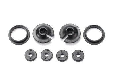 TRX3768 Spring retainers, upper & lower (2)/ piston head set (2-hole
