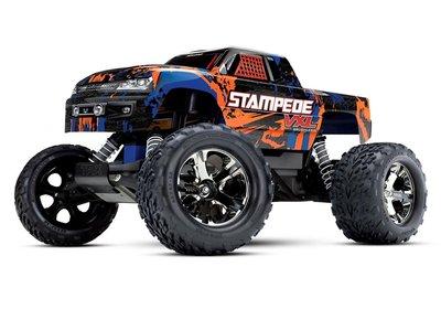 Traxxas Stampede Vxl Tqi Tsm (no Battery/charger), Orange - 36076-4O