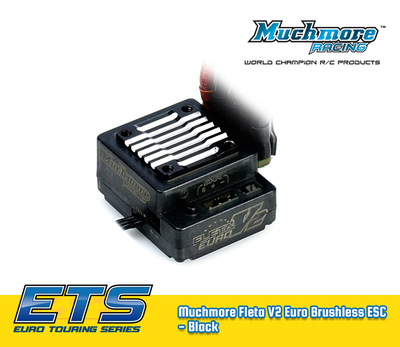 Muchmore Fleta V2 Euro Brushless ESC - Black - MM-ME-FLEV2