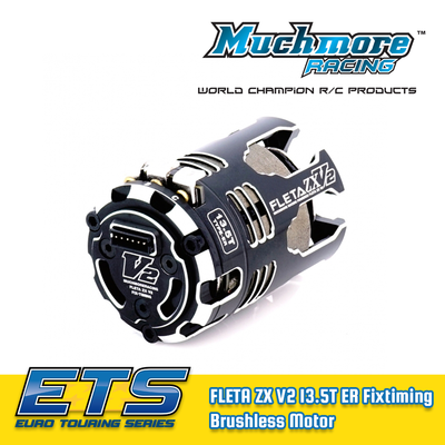 Muchmore FLETA ZX V2 13.5T ER Fixtiming Spec Brushless Motor - MM-MR-V2ZX135FER