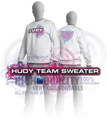HUDY Sweater - White (L) - 285400L