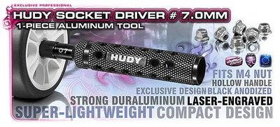 HUDY Limited Edition - Alu 1-Piece Socket Driver 7.0 mm - 170007