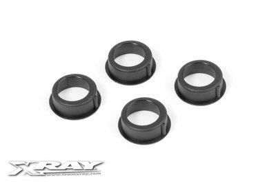 XRAY T4 COMPOSITE ADJUSTMENT BALL-BEARING HUB (4) - 302062
