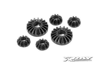 XRAY COMPOSITE GEAR DIFF BEVEL & SATELLITE GEARS (2+4) - 304930